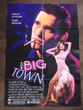 Big Town, Movie Poster, Smouldering Matt Dillon, Diane Lane '87